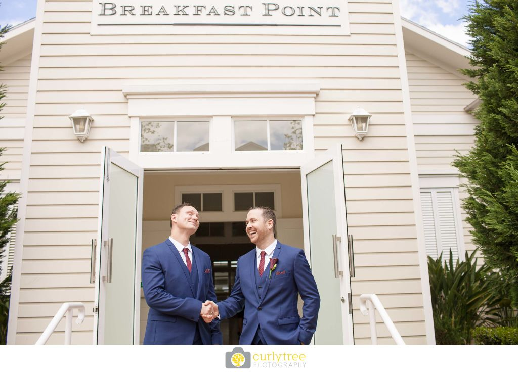 Silkstone park breakfast point wedding
